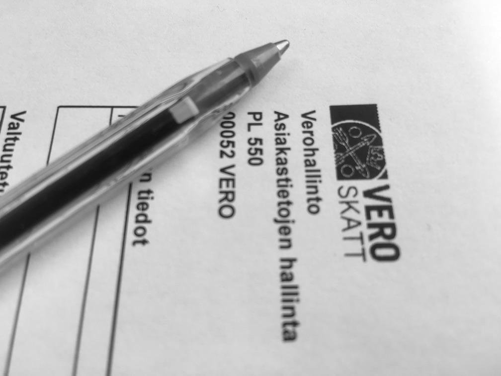 Perukirjan liitteet verohallinto